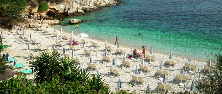KASSIOPI, CORFU BEACHES
